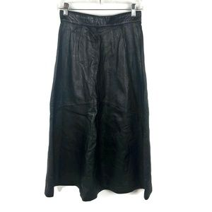 Continental Leather Fashions genuine leather skirt